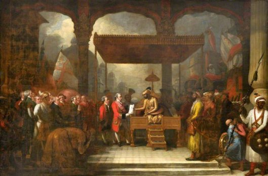 Shah 'Alam, Mughal Emperor, Conveying The Grant Of The Diwani To Lord Clive, August 1765