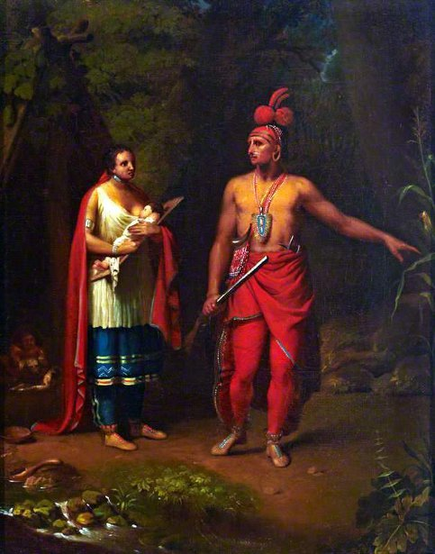 American Indian And Family
