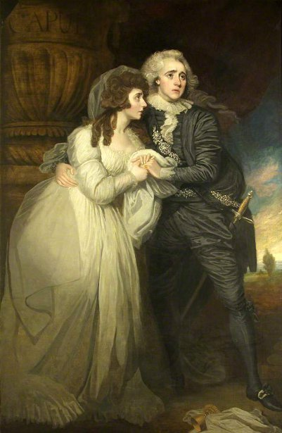 Ann Brunton And Joseph George Holman As Romeo And Juliet