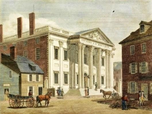 Bank Of The United States On Third Street, Philadelphia