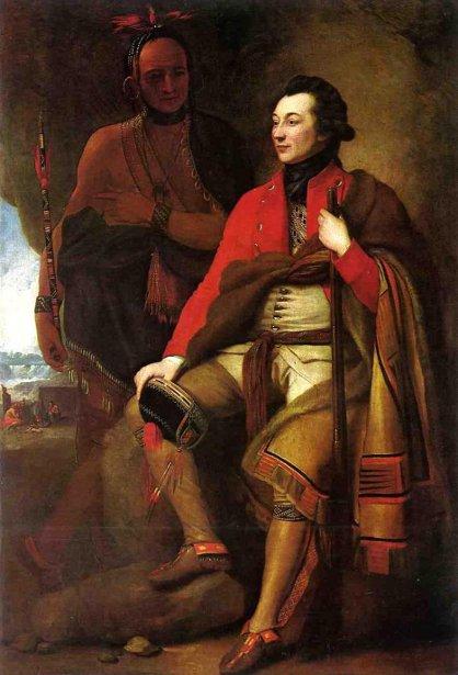Colonel Guy Johnson And Karonghyontye