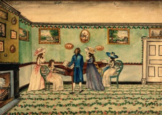 Harpsichord Recital At Count Rumford'd, Concor, New Hampshire