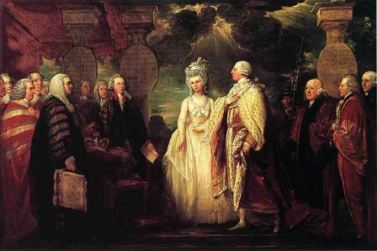 His Majesty George III Resuming Power In 1789