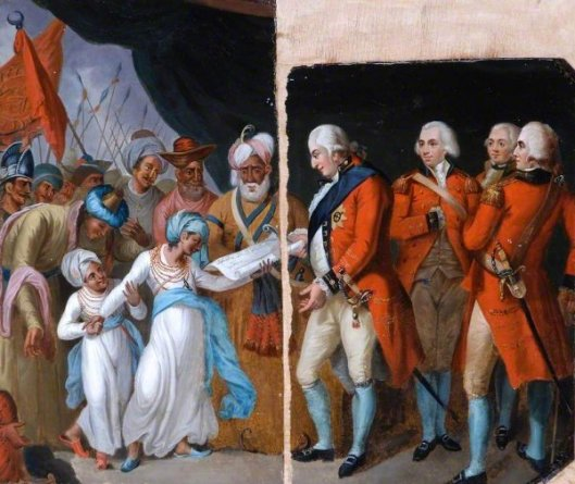 Lord Cornwallis Receiving The Sons Of Tipu As Hostages, 1792