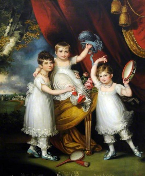 Miss Mary Barbara, Miss Mary Isabella And Master Thomas Aston Clifford