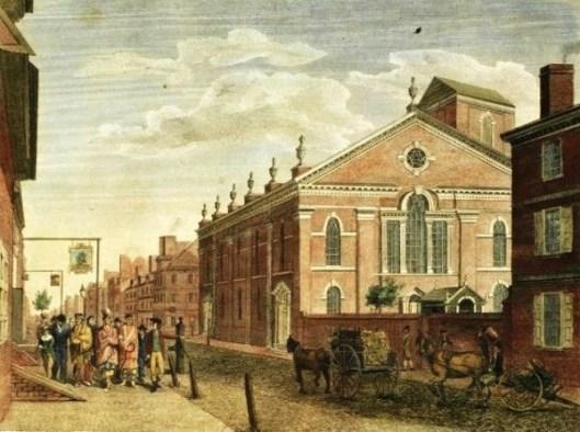 New Lutheran Church on Fourth Street, Philadelphia