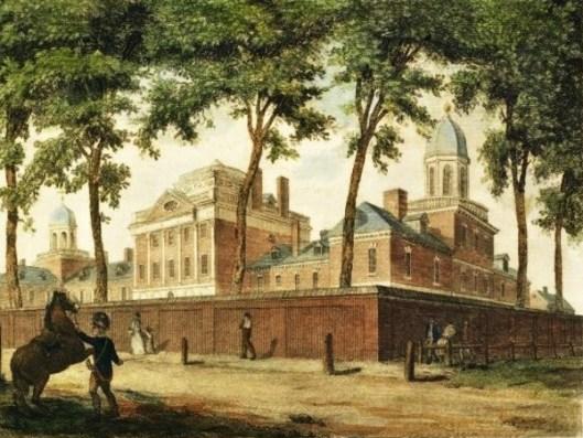 Pennsylvania Hospital, In Pine Street, Philadelphia