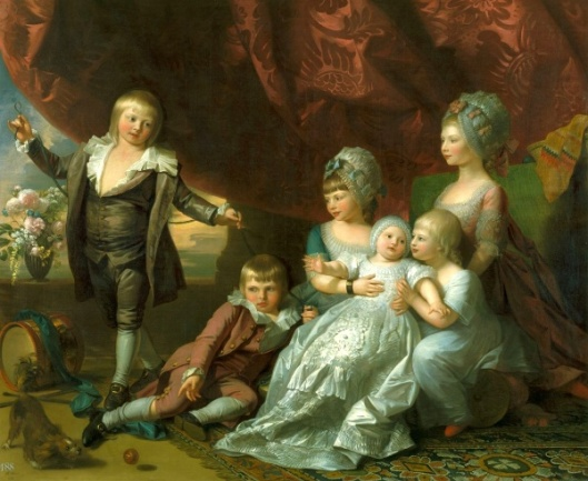 Princess Augusta, Princess Elizabeth, Prince Ernest, Prince Augustus, Prince Adolphus And Princess Mary (Six Children Of George III)