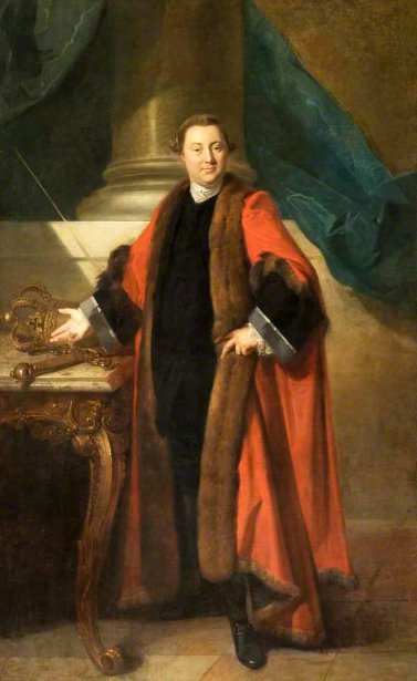 Thomas Grosvenor, Mayor Of Chester