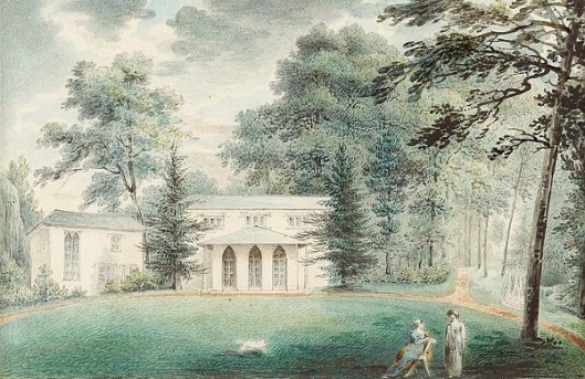 View Of Springland, Country Estate Of The Artist On The Delaware River