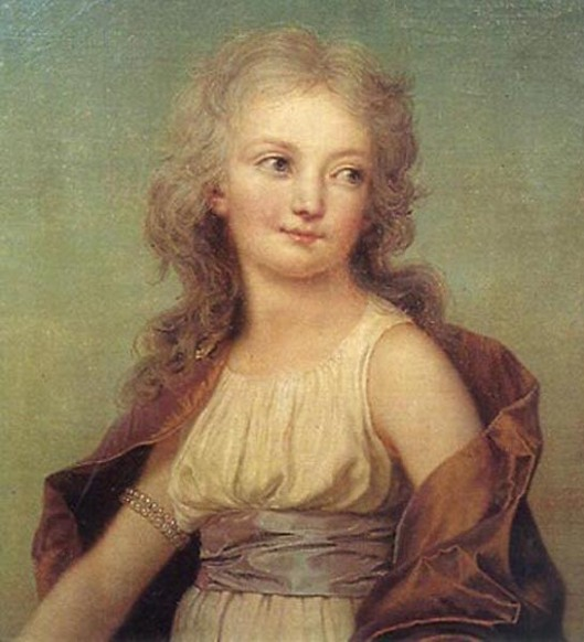 Madame Royale, Princess Marie Thérèse Charlotte of France, first daughter of Louis XVI and Marie Antoinette