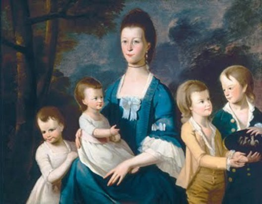 Mary Bryan Morel and Her Children
