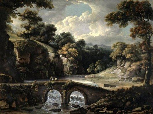 Stone Bridge Over The Wissahickon