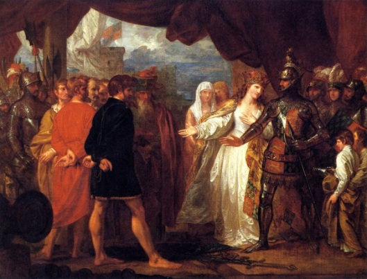 The Burghers Of Calais - Queen Philippa Interceding For The Lives Of The Burghers Of Calais