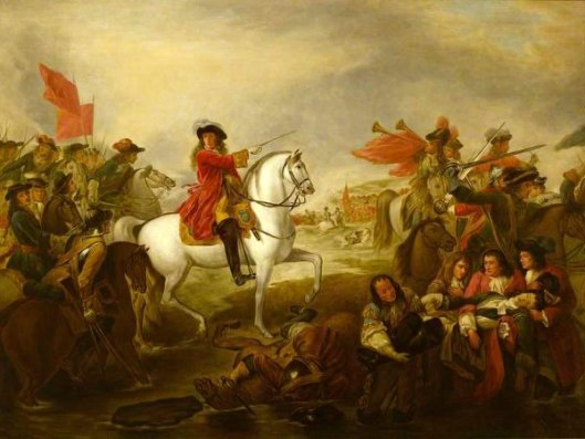 The Death Of Frederick 1st Duke Of Schomberg At The Battle Of The Boyne