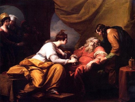 The Meeting Of Lear And Cordelia