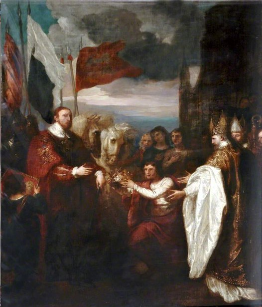 The Presentation Of The Crown To William I