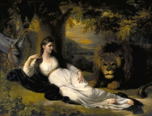 Una And The Lion (Mary Hall As Una)