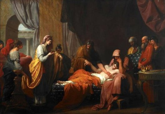 Erasistratus The Physician DiscoversThe Love Of Antiochus For Stratonice