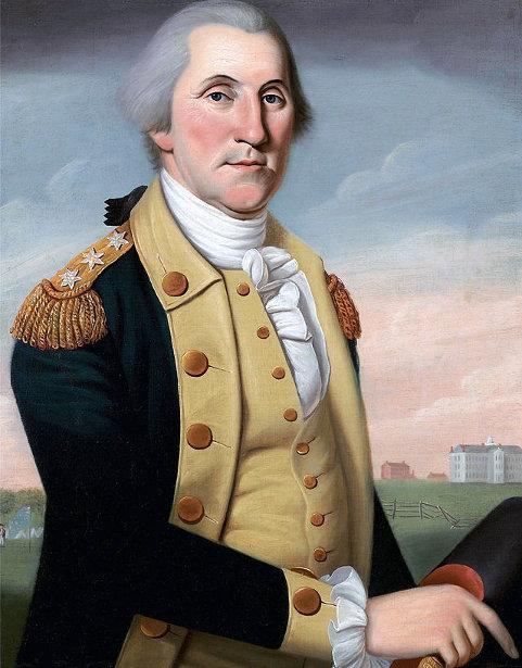 George Washington At Princeton
