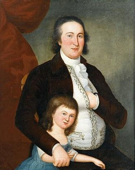 Mr. McCausland And Daughter, Frances