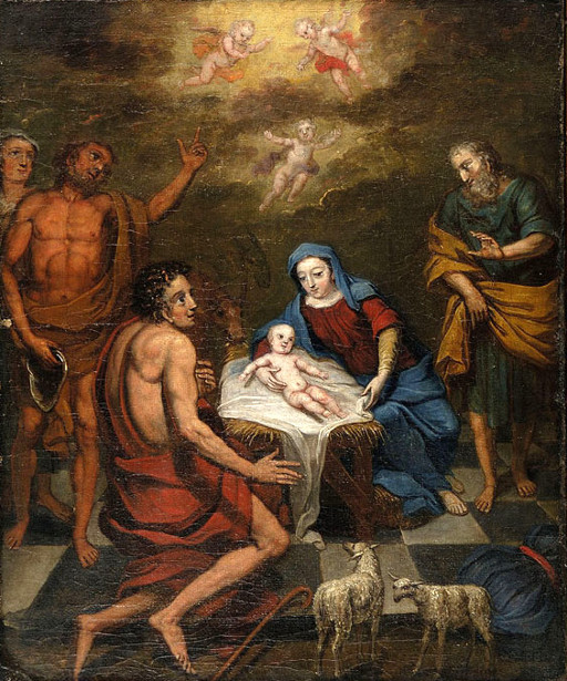 Nativity With Adoration Of The Shepherds