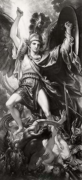 St. Michael And The Dragon