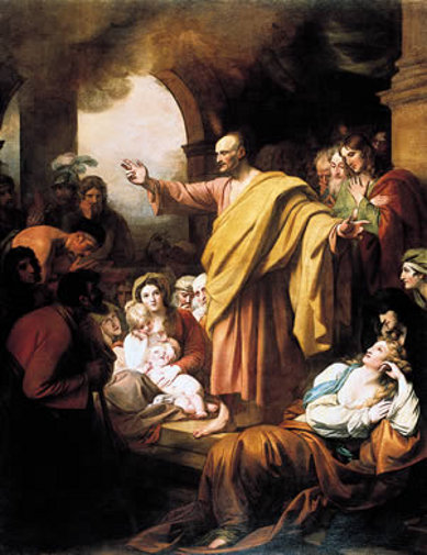 St. Peter Preaching At Pentecost