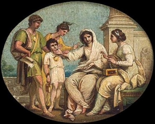 The Mother Of The Gracchi Displays Her Children As Her Only Jewels
