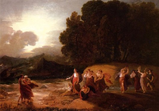 Calypso's Reception Of Telemachus And Me