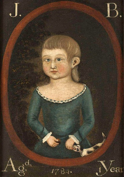 J. B., Aged 1 Year - Young Boy With Dog