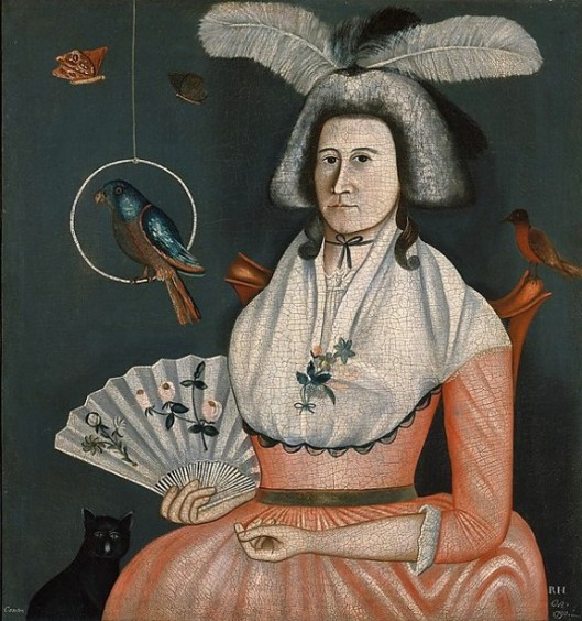 Lady With Her Pets - Molly Wales Fobes