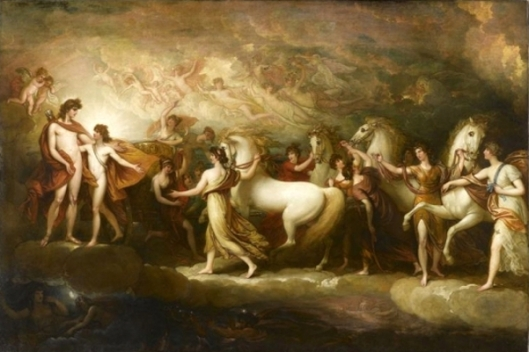 Phaeton Soliciting Apollo For The Chariot Of The Sun