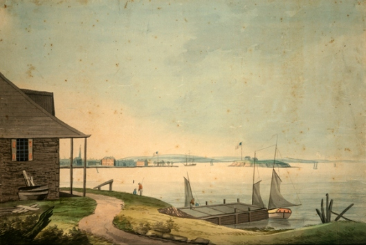 The Bay Of New York From Paulus Hook