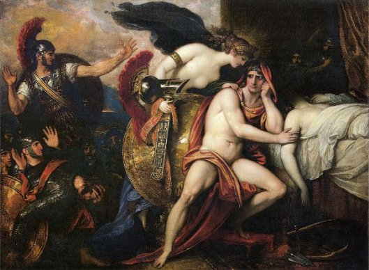 Thetis Bringing The Armor To Achilles