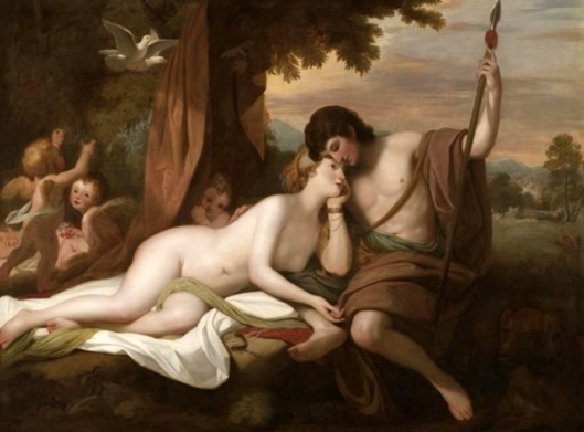 Venus And Adonis - Venus Relating To Adonis The Story Of Hippomenes And Atalanta