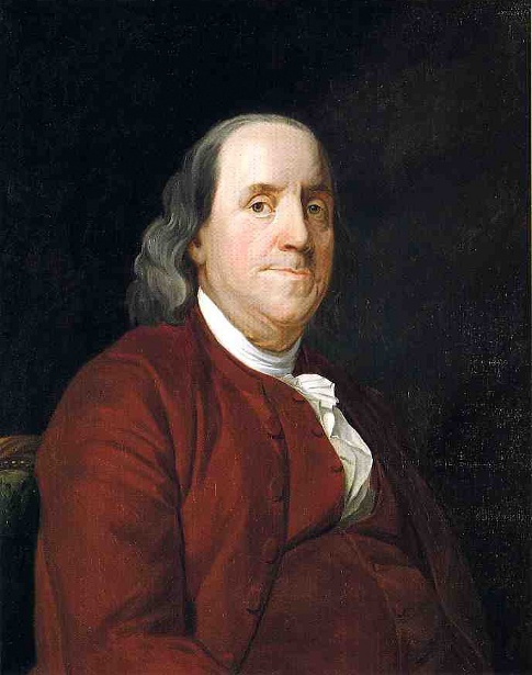Benjamin Franklin (after Joseph Siffred Duplessis)