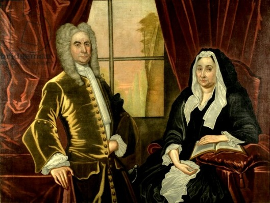 Captain and Mrs. Johannes Schuyler