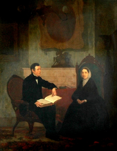 Couple In An Interior