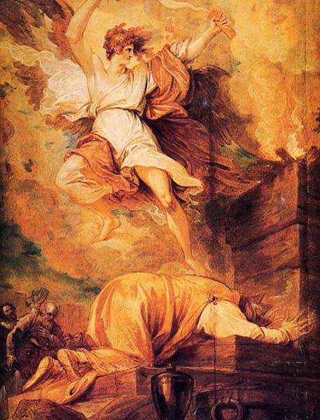 David Prostrate, Whilst The Destroying Angel Sheathes The Sword