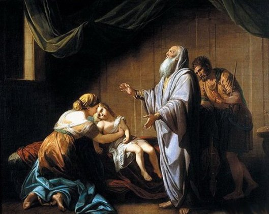 Elisha Raising The Son Of The Shumanite