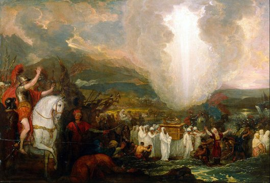 Joshua Passing The River Jordan With The Ark Of The Covenant