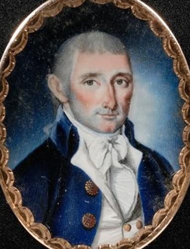 Man In Blue Jacket