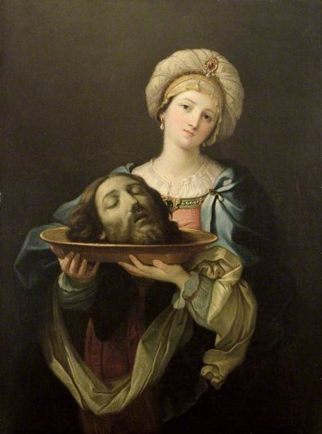 Salome With The Head Of St. John The Baptist (after Guido Reni)