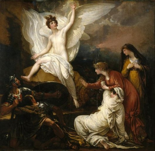 The Angel Of The Lord Announcing The Resurrection - The Women At The Sepulchre