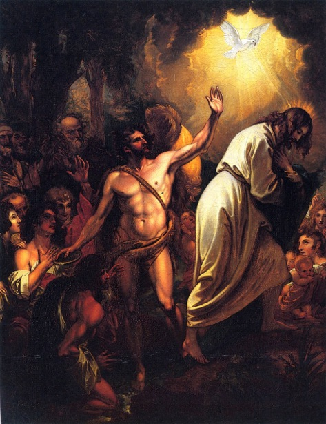 The Baptism Of Our Saviour - Christ Receiving The Holy Ghost When Baptized By John At The River Jordan - Christ Coming Up Out Of The Jordan