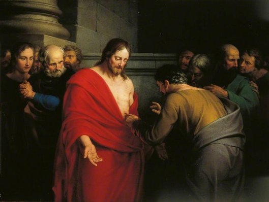 The Incredulity Of St. Thomas